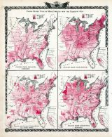 Statistics - United States Vitality Maps, Compiled from the Census of 1870