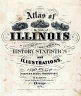 Title Page, Illinois State Atlas 1876