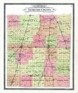 County Outline Map, Iroquois County 1904