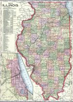 State Map, Iroquois County 1904
