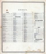 Index, Jersey County 1872