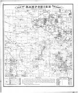 Hampshire Township, Kane County 1872 Microfilm