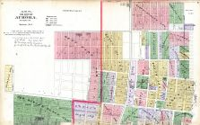 Aurora City - Section 1, Kane County 1892