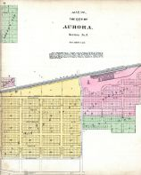 Aurora City - Section 3, Kane County 1892