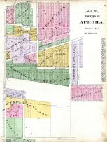 Aurora City - Section 4, Kane County 1892