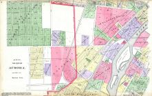 Aurora City - Section 6, Kane County 1892