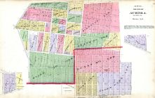 Aurora City - Section 8, Kane County 1892