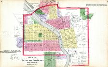 Dundee and East Dundee, Kane County 1892