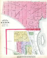Elgin City - Section 5, Kane County 1892