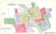 St. Charles City, Kane County 1892