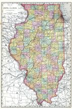 State Map, Kane County 1892