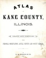Title Page, Kane County 1892