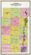Kane County Outline Map, Kane County 1904