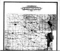 Kane County Outline Map - Above, Kane County 1904 Microfilm