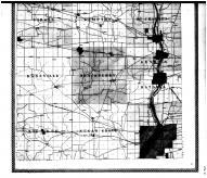 Kane County Outline Map - Below, Kane County 1904 Microfilm