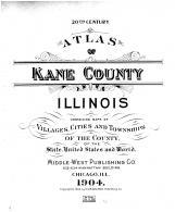 Title Page, Kane County 1904 Microfilm