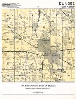 Dundee Township, Carpentersville, West Dundee, East Dundee, Kane County 1954c