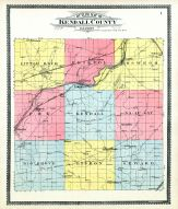 County Outline Map, Kendall County 1903