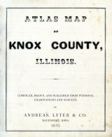Title Page, Knox County 1870