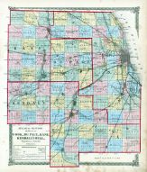 Cook Du Page, Kane, Kendall and Will Counties, La Salle County 1876