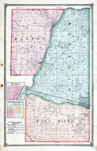 Dayton, Rutland, Wedron, South Marseilles, Fall River, La Salle County 1876
