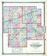 Fayette, Effingham, Clay and Marion Counties, La Salle County 1876