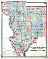Jackson, Williamson, Johnson, Union, Alexander and Pulaski Counties, La Salle County 1876