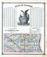 Mc Henry and Lake Counties, La Salle County 1876