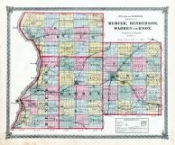 Mercer, Henderson, Warren and Knox Counties, La Salle County 1876