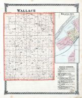 Wallace Township, Millington, La Salle County 1876