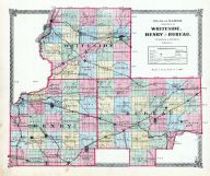 Whiteside, Henry and Bureau Counties, La Salle County 1876
