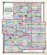 Winnebago, Boone, Ogle, Lee and De Kalb Counties, La Salle County 1876