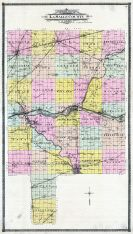 County Map - Outline, La Salle County 1906