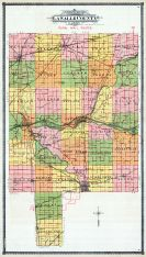 County Map - Rural Mail Routes, La Salle County 1906