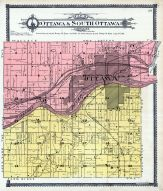 Ottawa and South Ottawa Township, La Salle County 1906