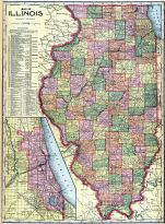 State Map, La Salle County 1906