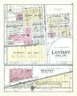 Lostant and Meriden, La Salle County 1929