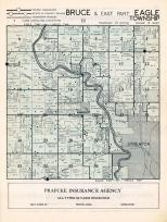 Bruce Township, Eagle Township - East, Streator, Kangley, Richards, Munster, Wilsmak, La Salle County 1952c