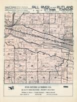 Fall River Township, Rutland Township-South, Ottawa Towship, La Salle County 1952c