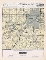 Ottawa and South Ottawa Townships, La Salle County 1952c