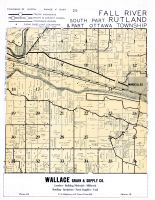 Fall River Township, Rutland Township - South, Ottawa Township - South, La Salle County 195x