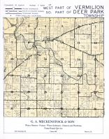 Vermilion Township - West, Deer Park Township - South, La Salle County 195x