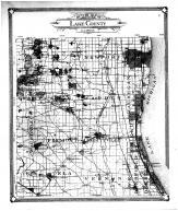 Lake County Outline Map, Lake County 1907