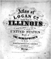 Title Page, Logan County 1873