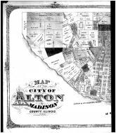 Alton - Left, Madison County 1873 Microfilm