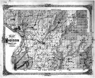Madison County Map, Madison County 1873 Microfilm