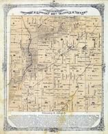 Township 5 North, Range 6 West, Greencastle, Silver Creek, Madison County 1873