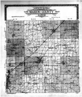 Marion County Outling Map, Marion County 1915