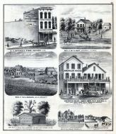 C.S. Cottrell's Store, Wm.H. Hunt, W.S. Kenner, James Smith, W.A. Briant, F.A. Kirkpatrick, McDonough County 1871