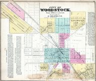 Woodstock City, McHenry County 1872
